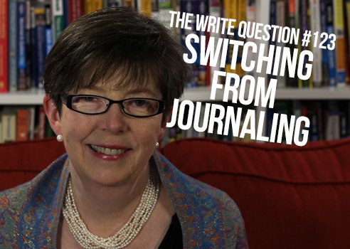 switch from journaling to other types of writing