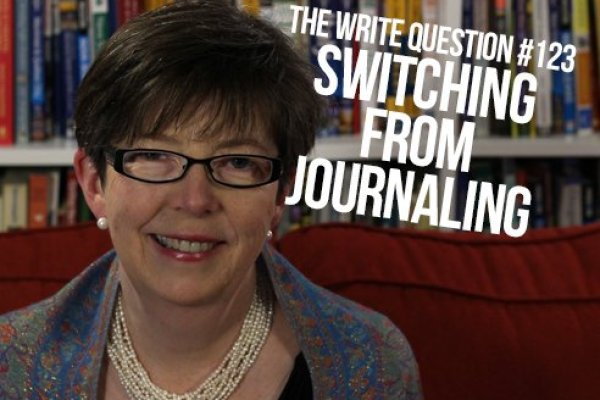 How to switch from journalling to other types of writing