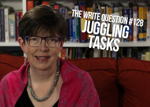how to juggle tasks related to book writing