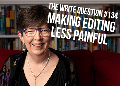 how to make editing less painful
