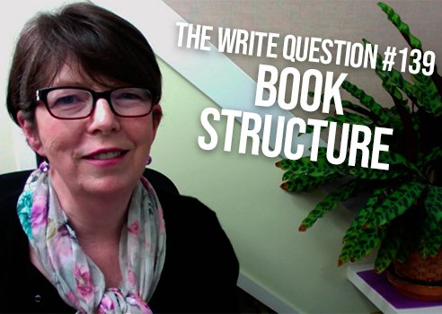 how to structure a book