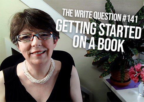 how to get started on a book