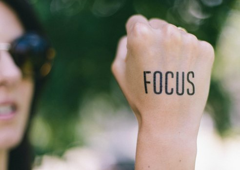 how to focus when writing