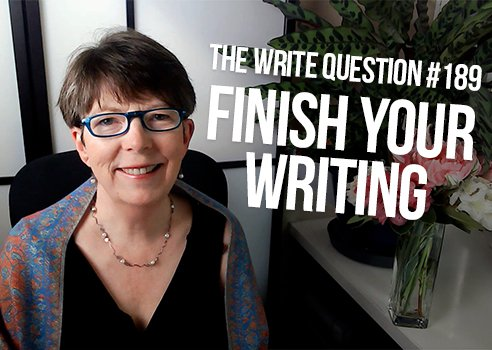 finish your writing