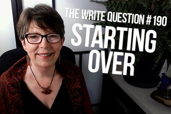 What are the pros and cons of starting over with a writing project?