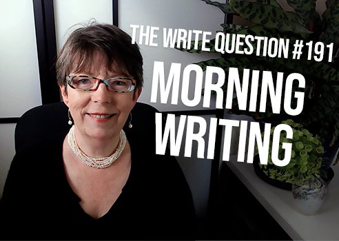 Is it necessary to write in the morning?