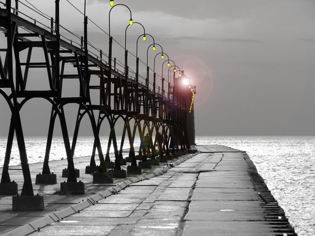Pier to Lighthouse