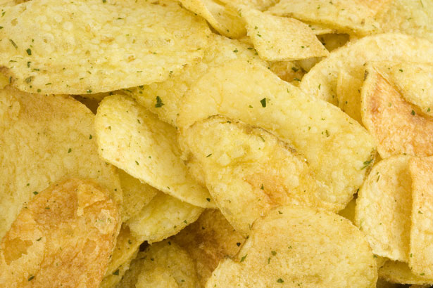 potato chips, crisps, snacks, food