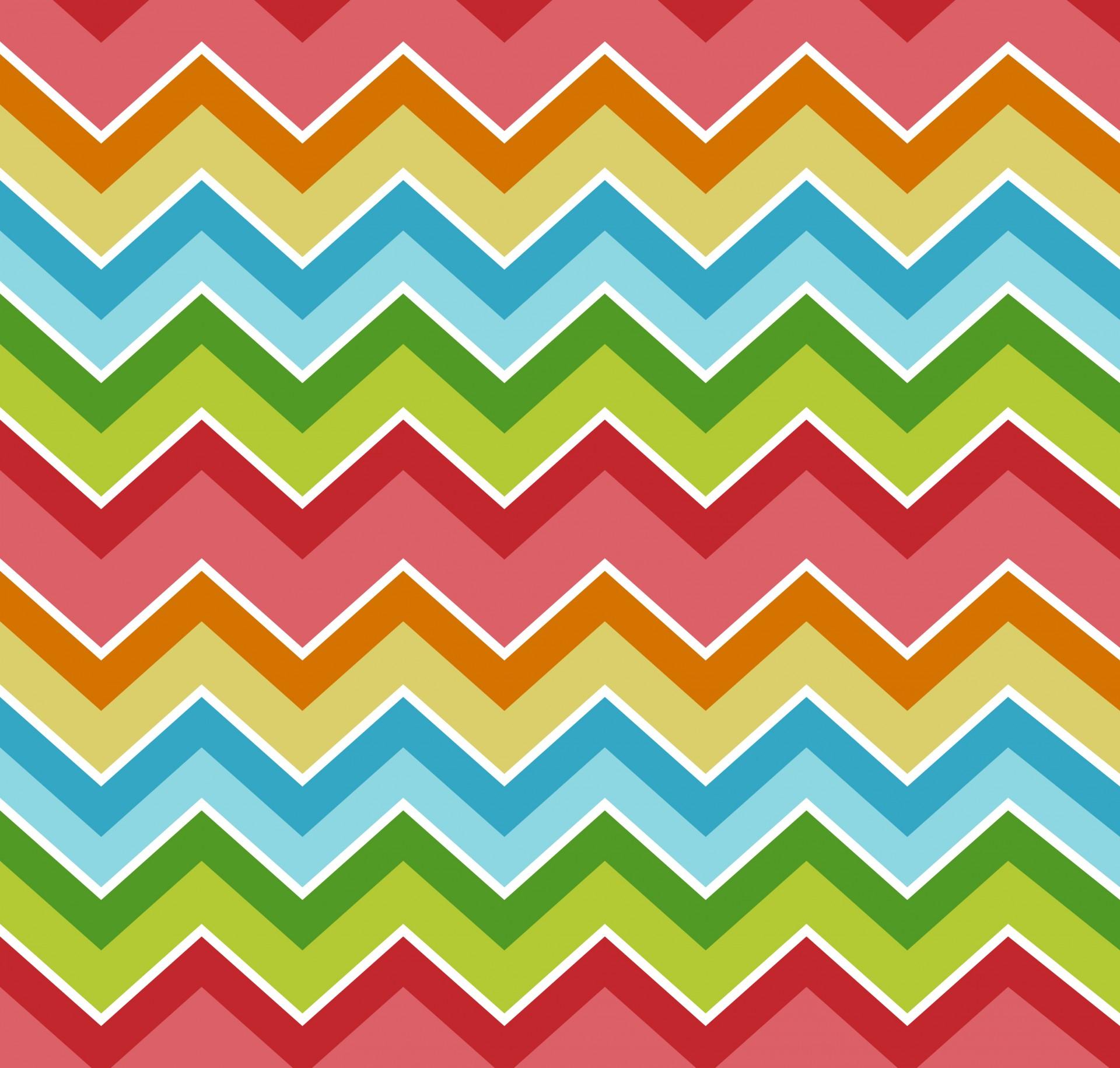 Chevrons Zigzag Colorful Background Free Stock Photo