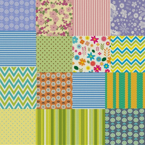 Patchwork Quilt Fabric Background Free Stock Photo ...