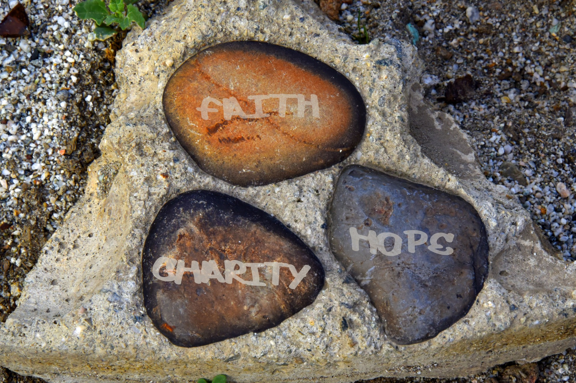 Hope, Faith, Charity, Desire