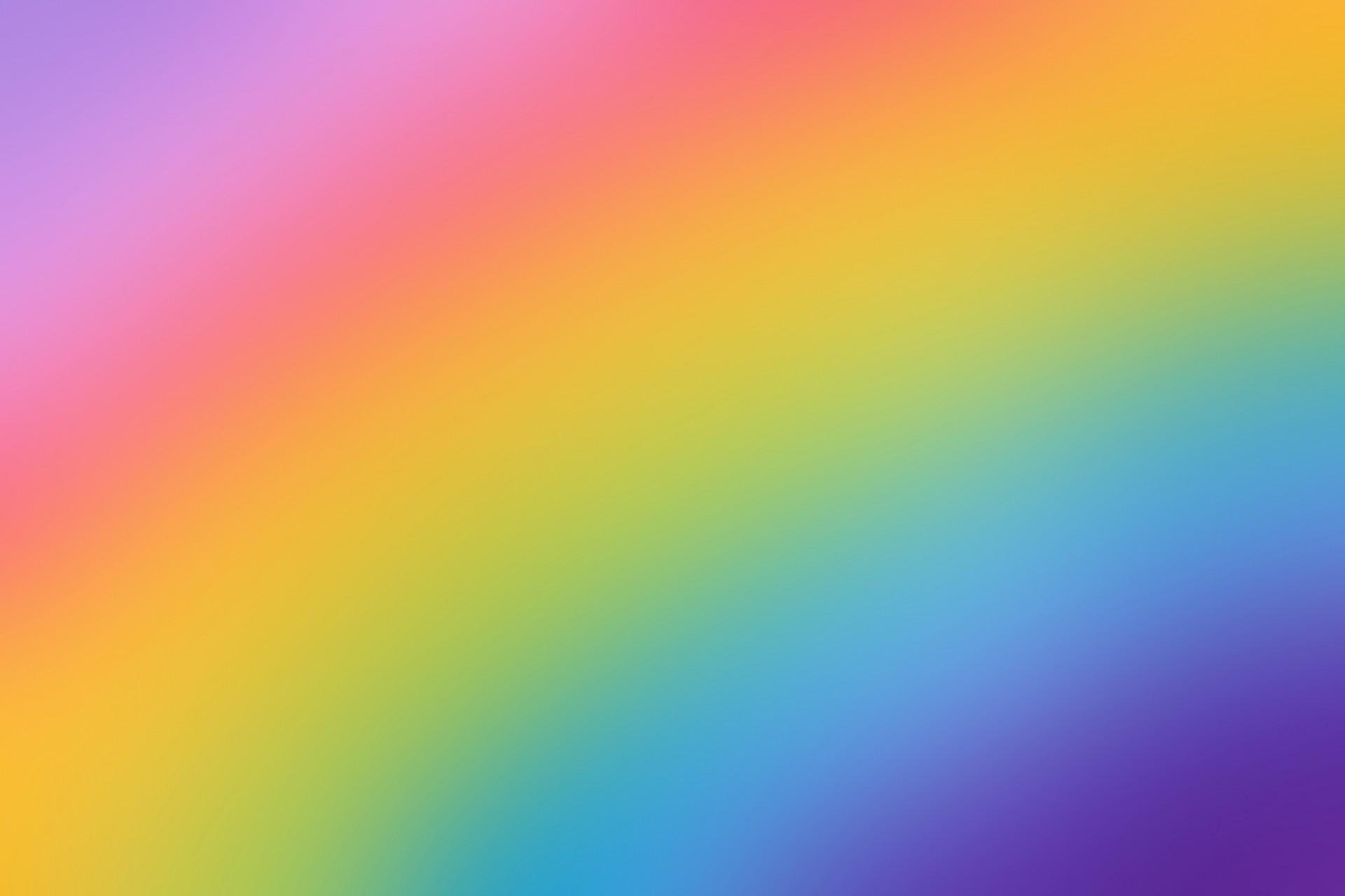 Rainbow Colors Background Free Stock Photo