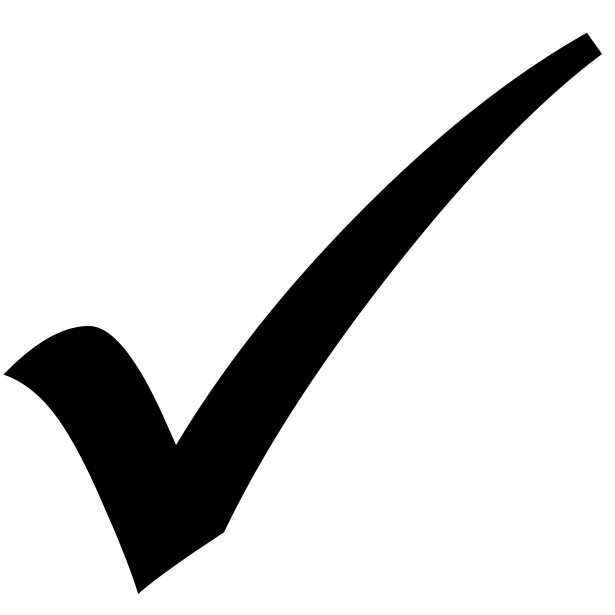 Check Mark Icon Free Stock Photo - Public Domain Pictures on ✔  id=93610