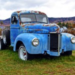 Classic Blue Pickup Truck Free Stock Photo Public Domain Pictures