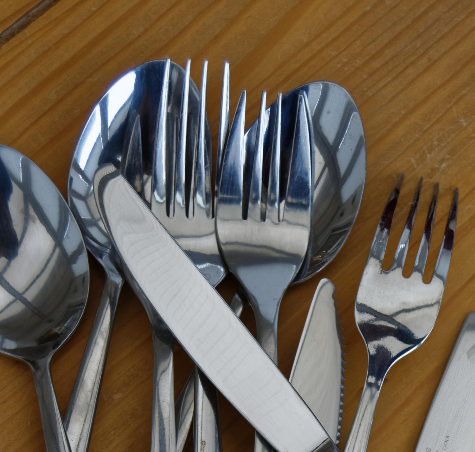Poetry, Eating Utensils, Forks, Flatware