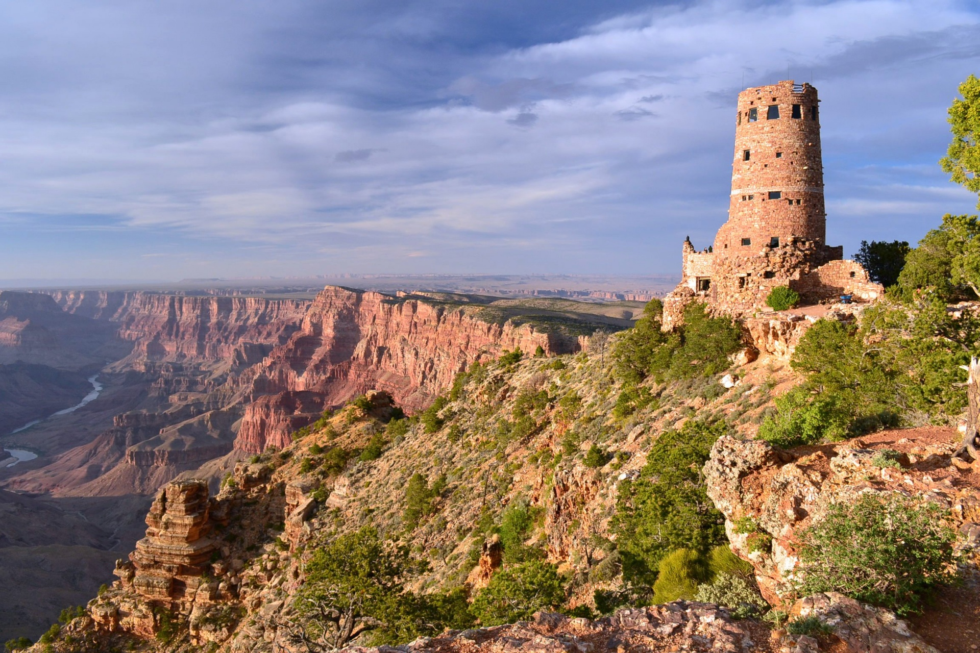 Desert View Tower, Grand Canyon, National Parks, Parks and Recreation Month