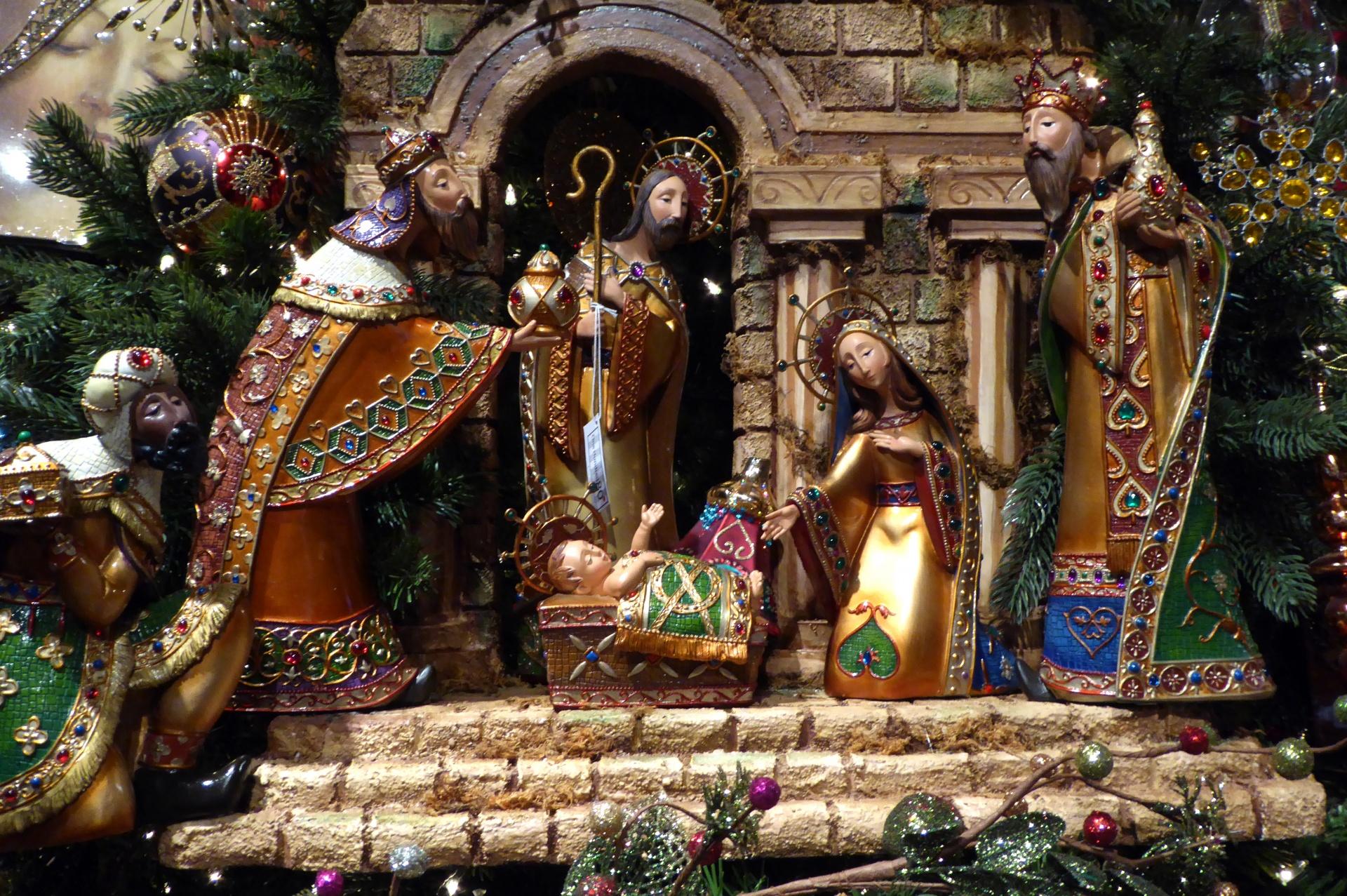 Christ is Born, Christmas, Jesus, Nativity Scene, Manger