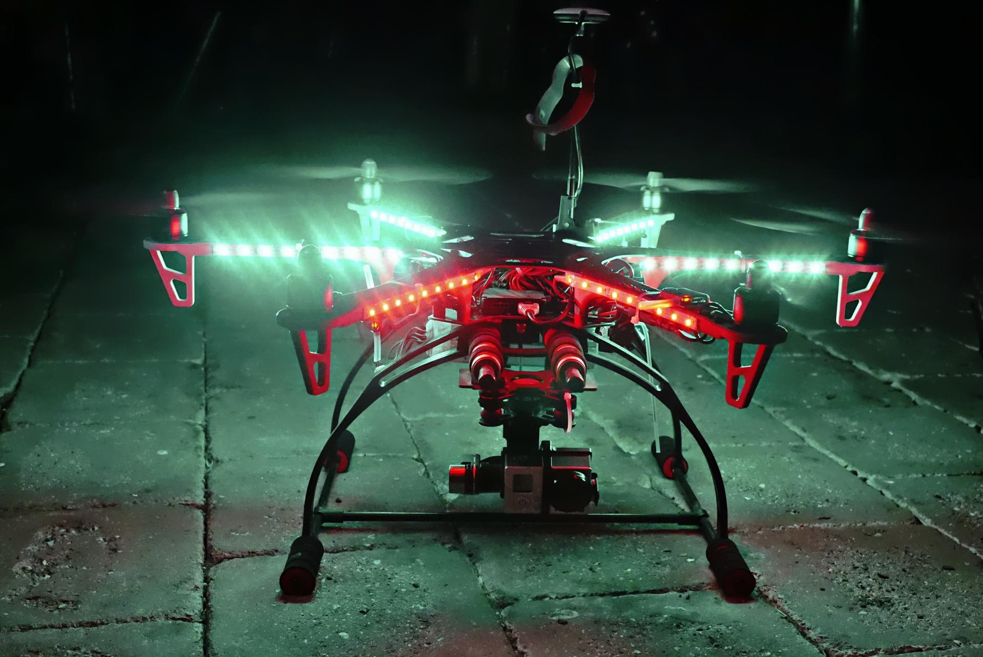 Drones, Surveillance