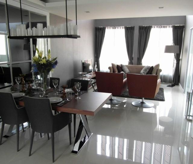 Open Plan Dining Room Interior