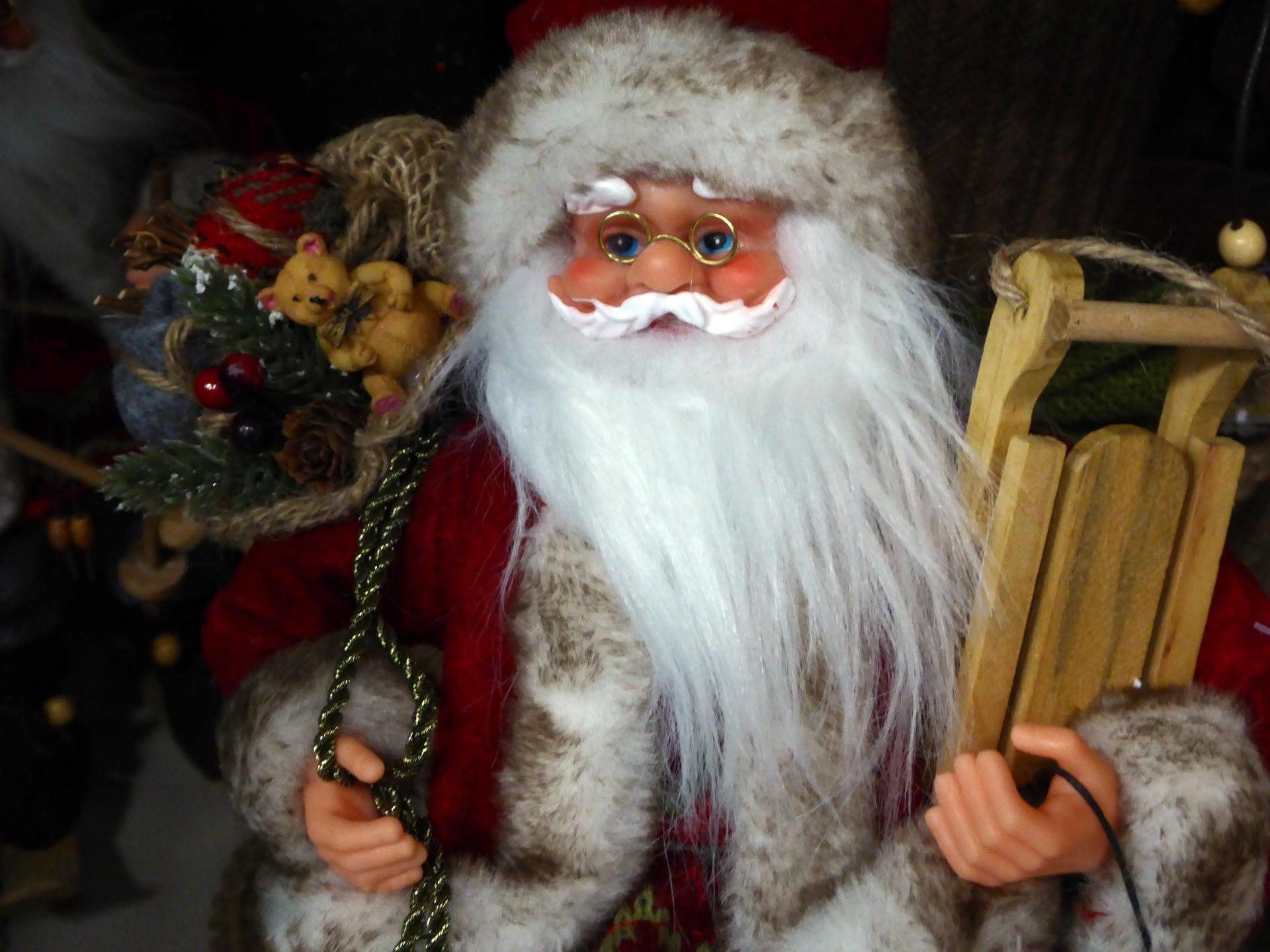 public domain Santa