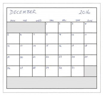Image result for week planner december