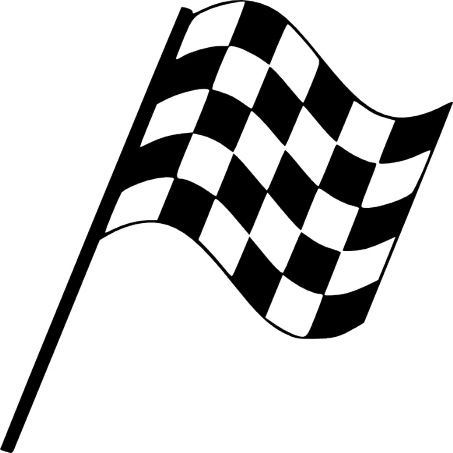 Rectangle Checker Flag Free Stock Photo