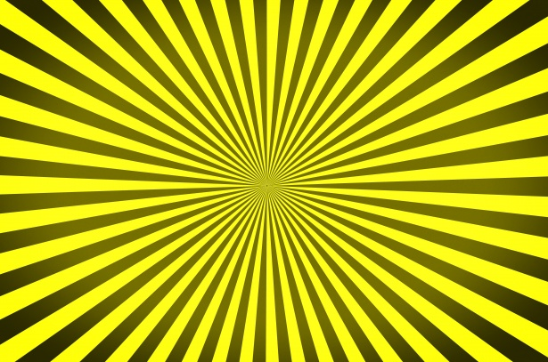 Sunburst Pattern Radial Background Free Stock Photo
