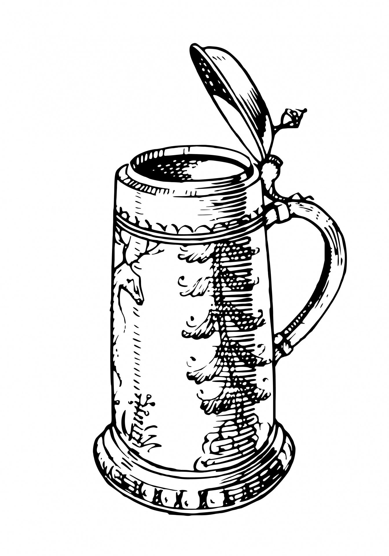 Beer Stein Clipart