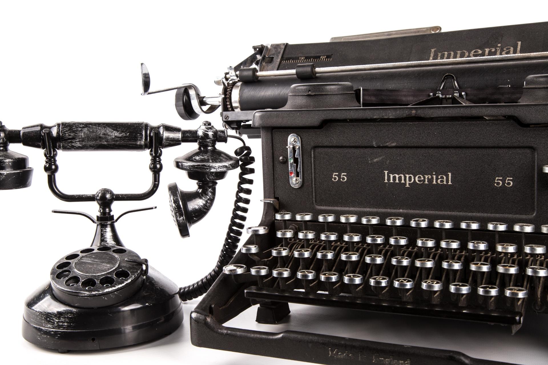 Vintage Typewriter, Imperial