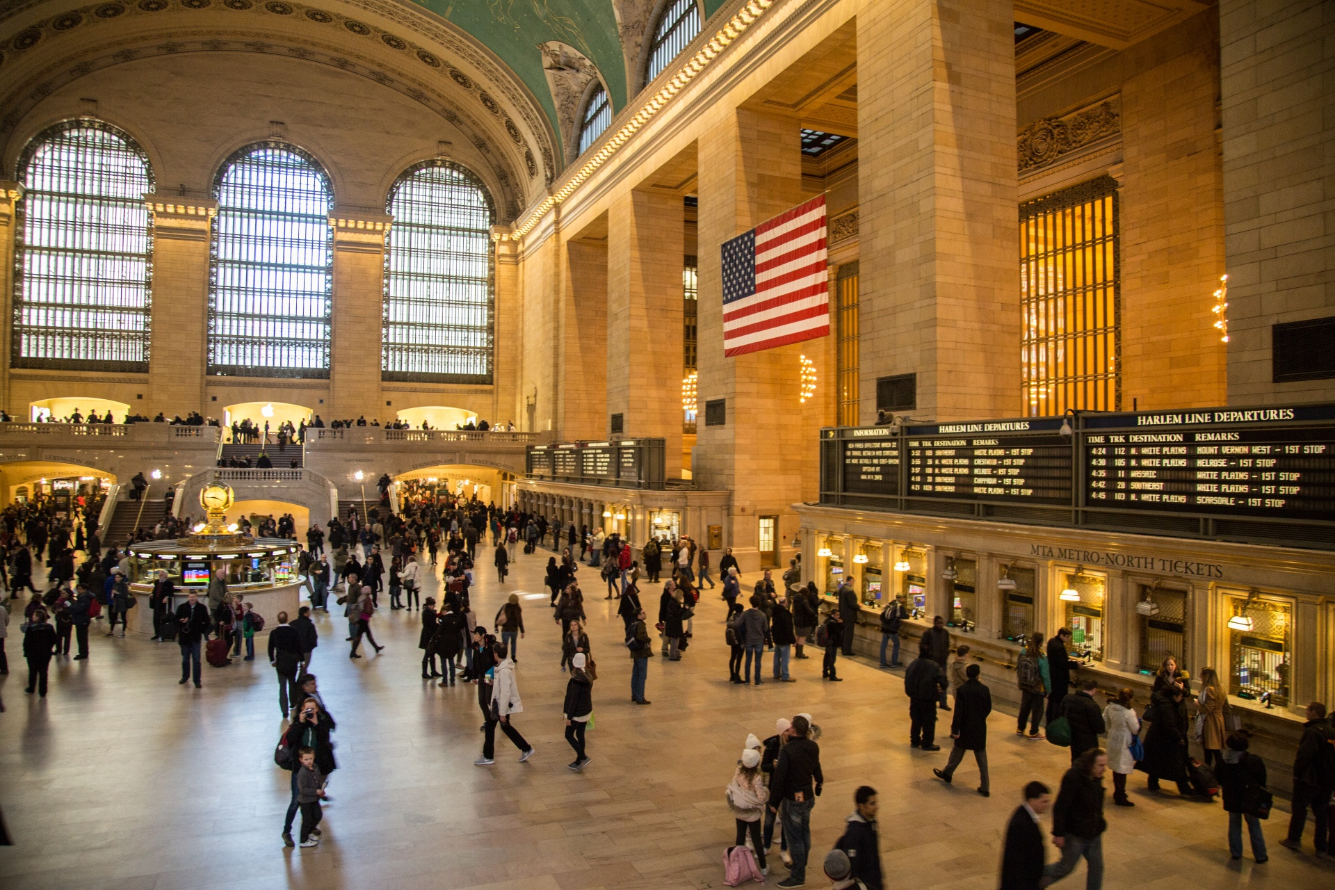 Grand Central Station Train Schedule