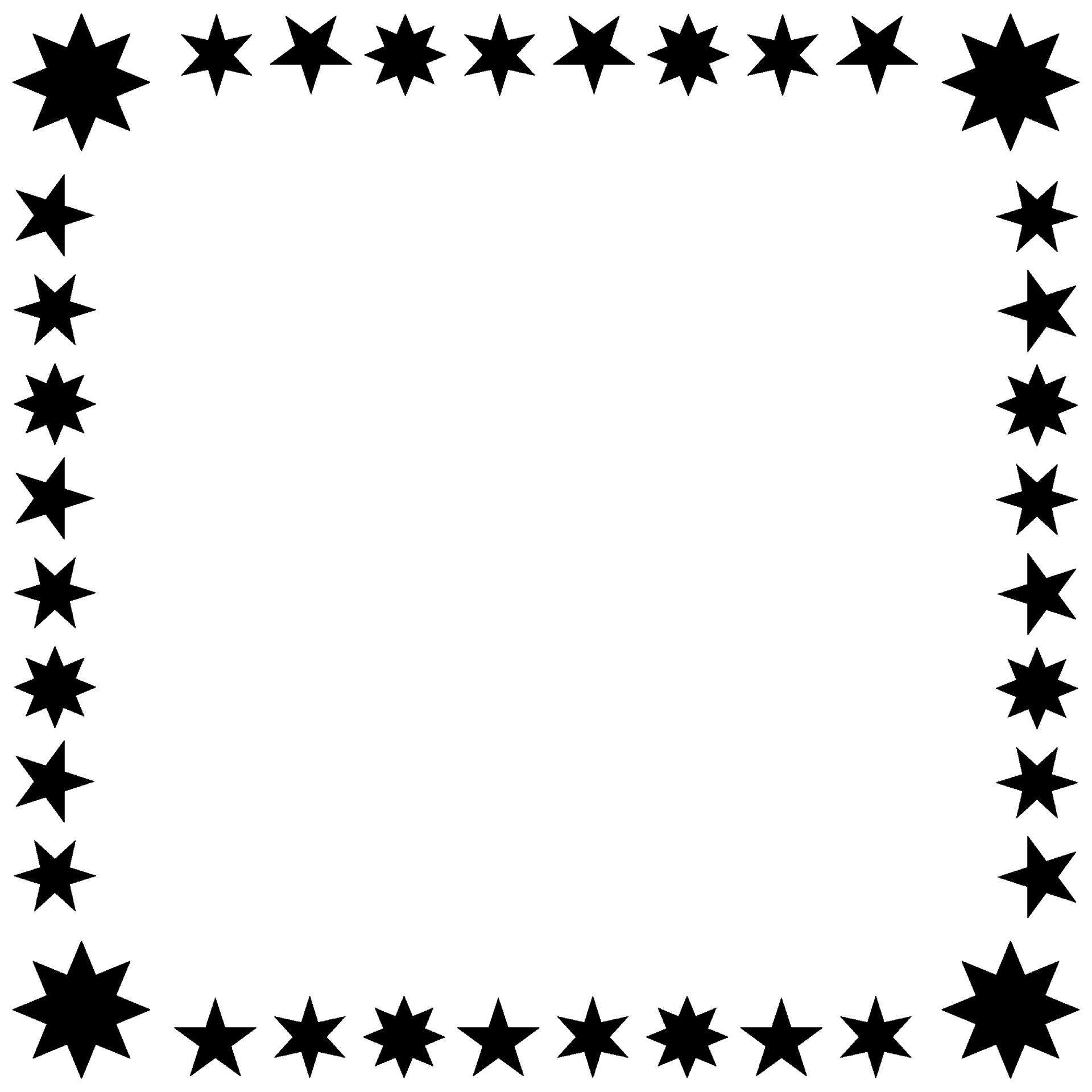 Star Frame Free Stock Photo