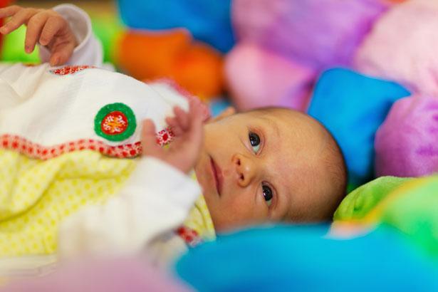 Bebé que mira
