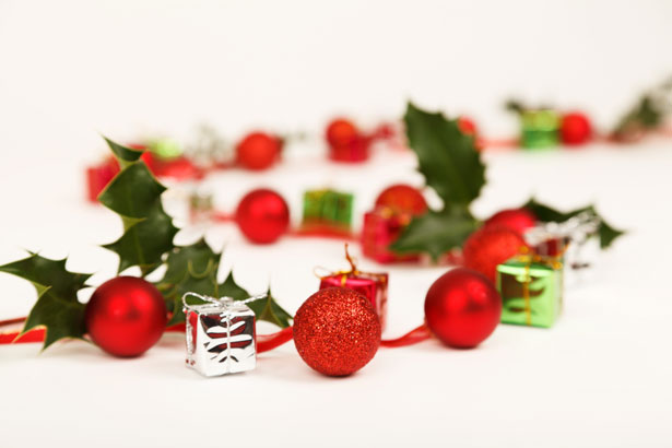 Baubles Presents And Holly Free Stock Photo Public