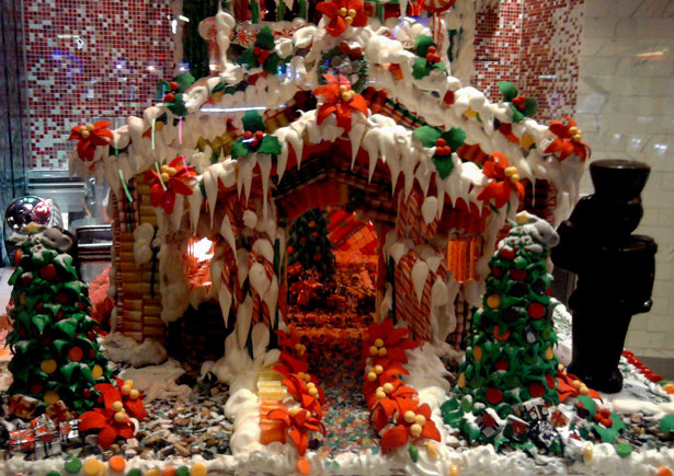 Christmas 2011 Gingerbread House Free Stock Photo Public