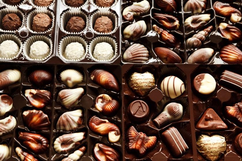 cadourile de 8 martie: bomboanele