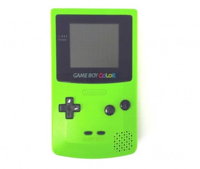 Green Nintendo Game Boy Color