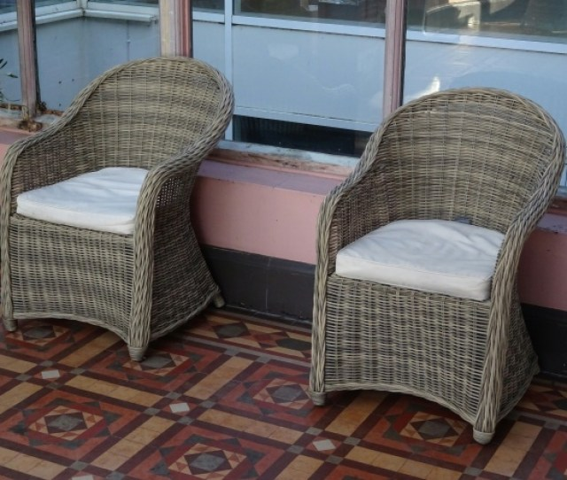 Conservatory Basket Chairs