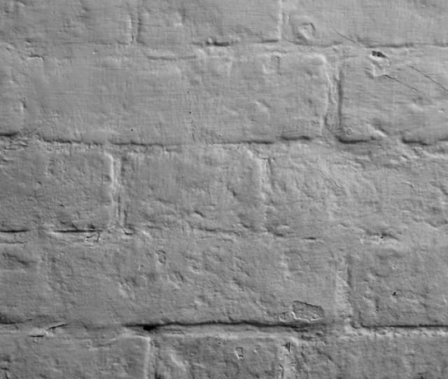 Gray Painted Brick Wall