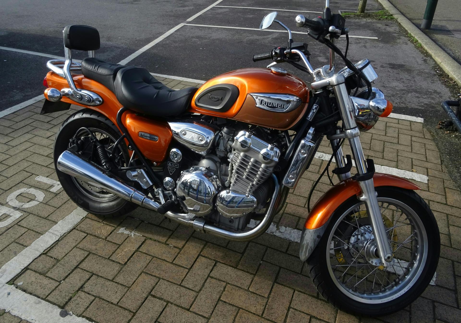 Motorcycle, Bike, Triumph Adventurer