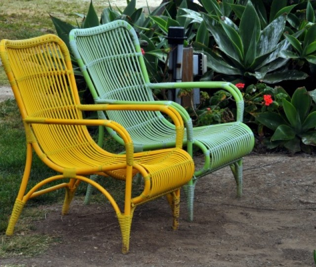 Pair Of Patio Chairs