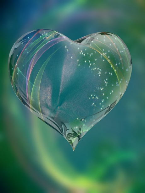 Glass Heart Free Stock Photo Public Domain Pictures