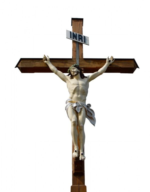 Jesus On Wooden Cross Free Stock Photo - Public Domain ...