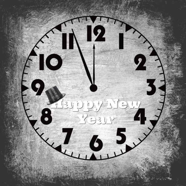 Happy New Year Clock Free Stock Photo   Public Domain Pictures Happy New Year Clock