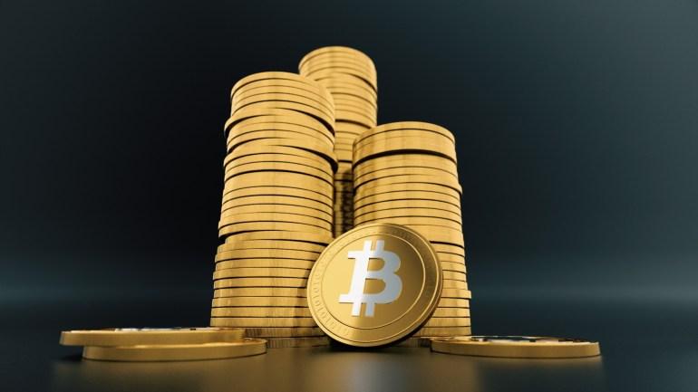 Ilustración de monedas de Bitcoin 3D Stock de Foto gratis - Public ...