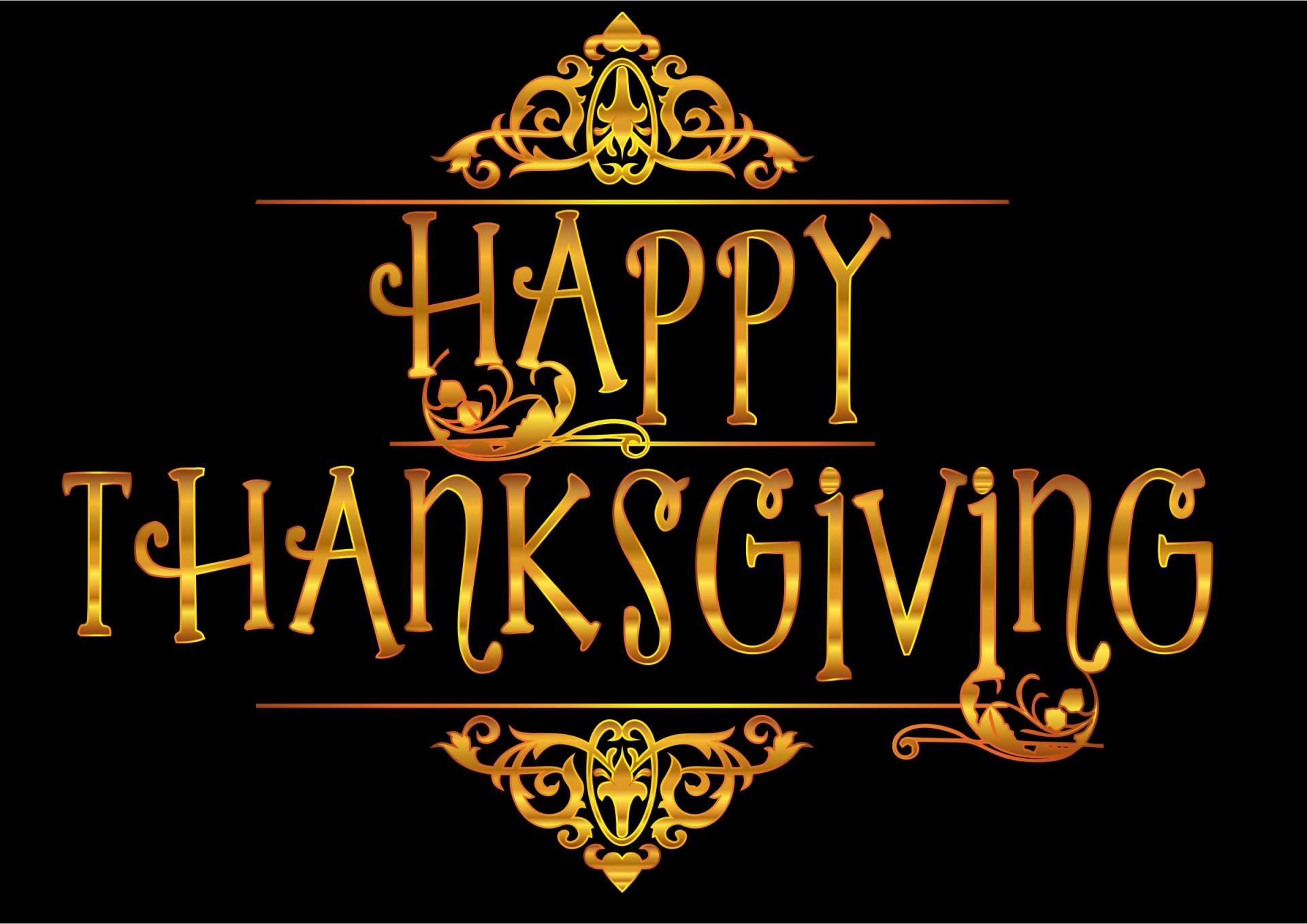 Gratitude, Happy Thanksgiving Day
