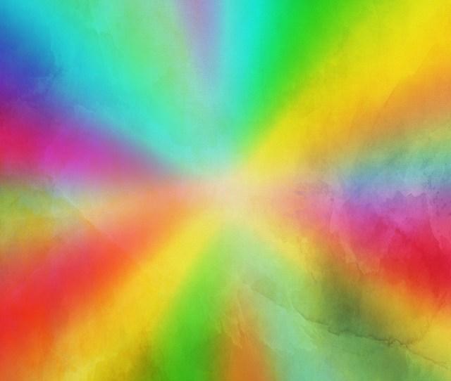 Paint Background Rainbow Colors