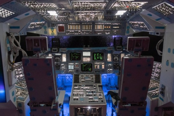 Inside Of A Space Shuttle Free Stock Photo - Public Domain ...