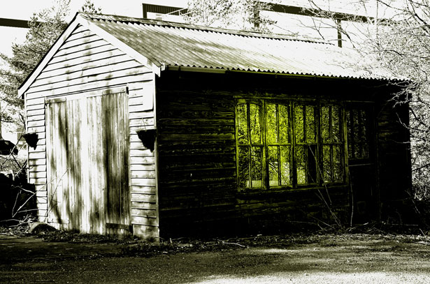 Mysterious Old Shed Free Stock Photo Public Domain Pictures