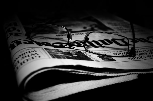 Newspapers And Glasses, American Newspapers, American Newspaper Month