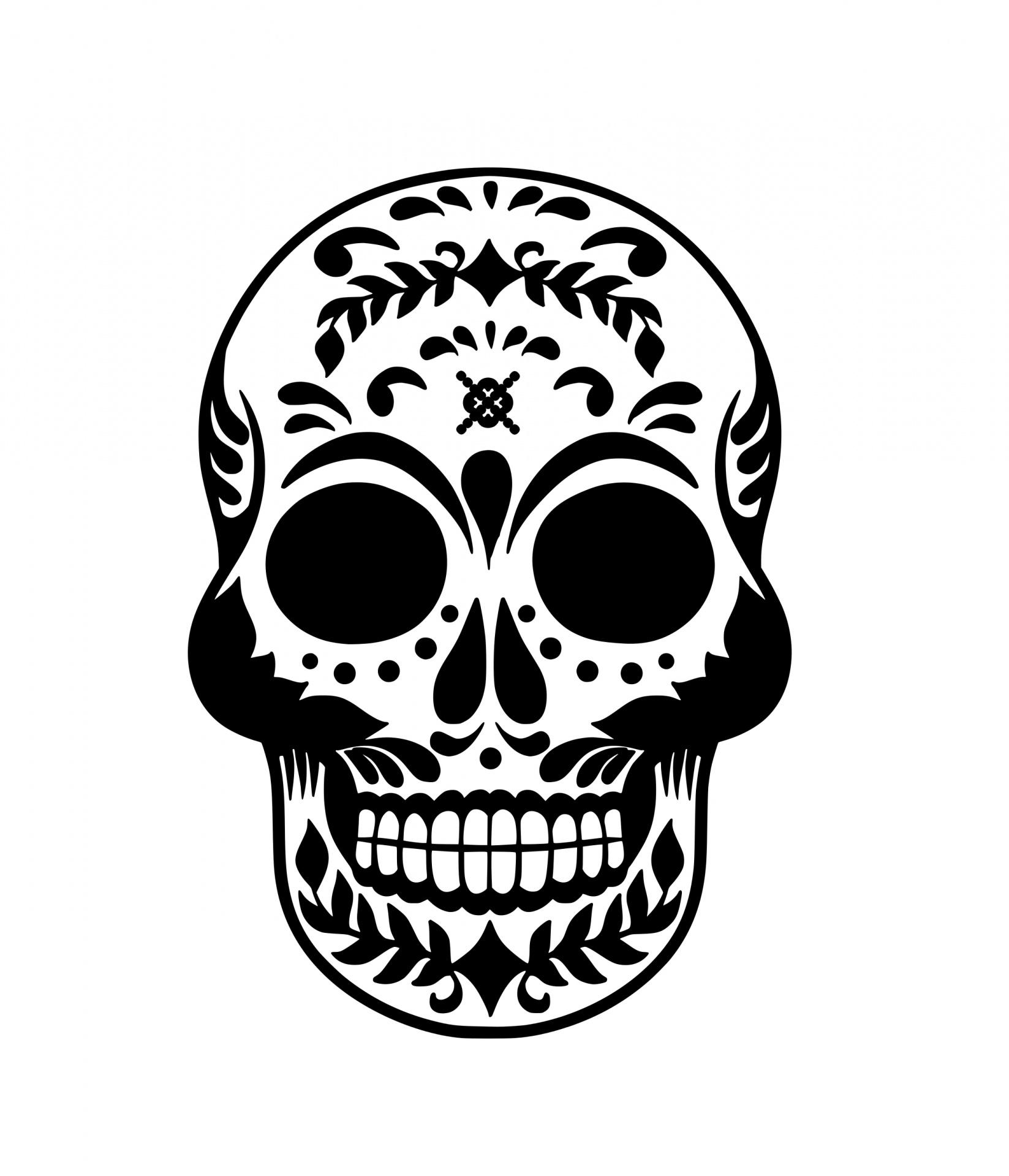 Skull Halloween Clipart Free Stock Photo